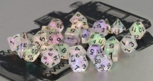 Bescon Shimmery dice