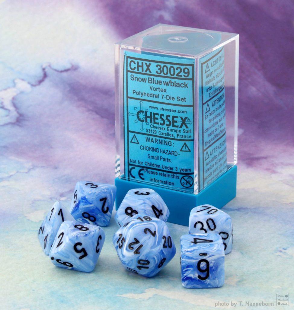 Lab Dice 2019 - Vortex Snow Blue