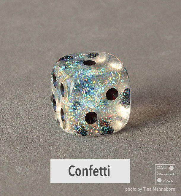 Chessex Borealis Confetti 12mm