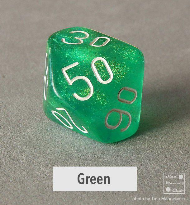 Chessex Borealis Green d%