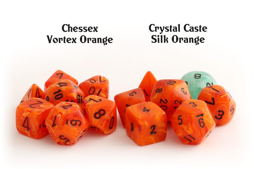 Vortex Orange vs. Silk Orange