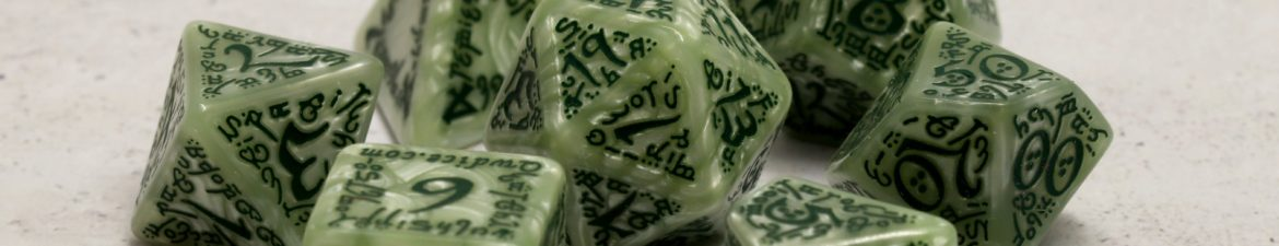 QWS - Elven Pearl Green Poly